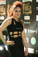 Nikesha Patel in Beautiful Figure Hugging Black Dress  at IIFA Utsavam Awards 2017  Day 2 at  01.JPG