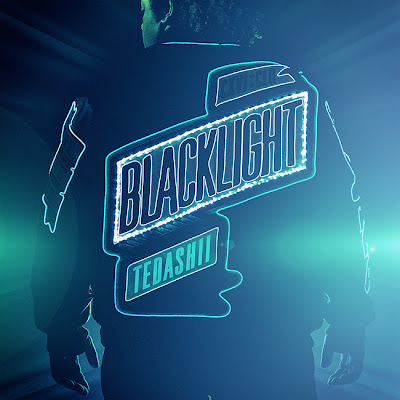 Tedashii's album cover - Blacklight albumart