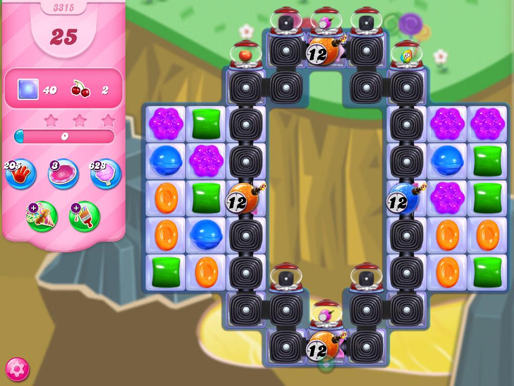 Candy Crush Saga level 3315