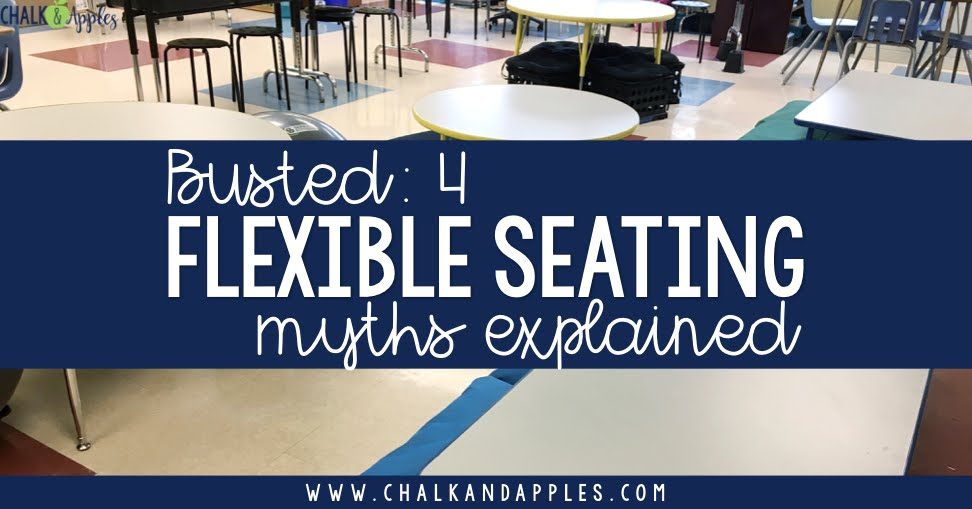 Flexible seating isn't about yoga balls... and other common flexible seating myths. Find out the truth about how flexible seating works in a real classroom.