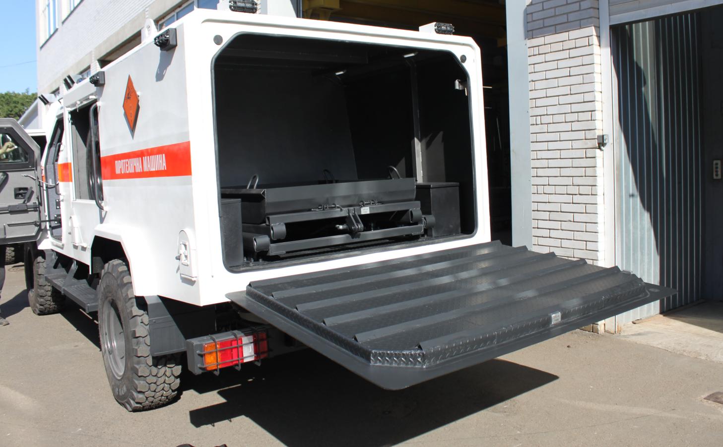 Спеціальний броньований автомобіль для піротехнічних команд «Козак–5ПМЛ»