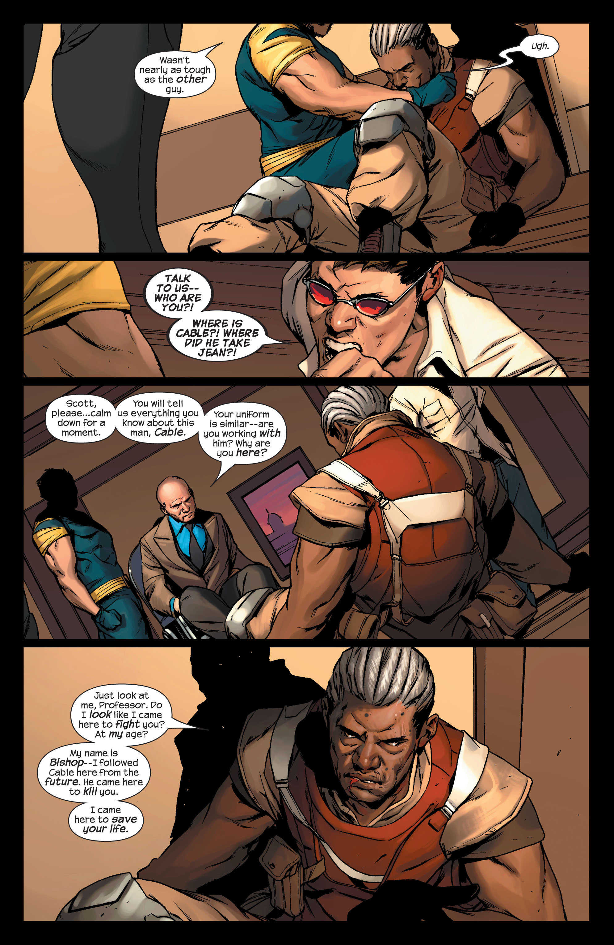 Read online Ultimate X-Men comic -  Issue #76 - 21