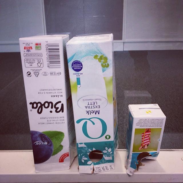 Eco conscious living: Recycling carton