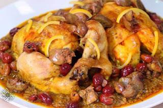 وصفة دجاج محمر في الفرن بالدغميرة