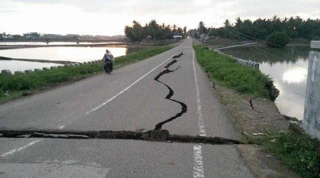 Aceh Kembali Diguncang Gempa 6.4 SR