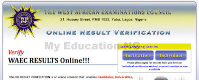 WAEC 2018 Result Verification Online Procedures