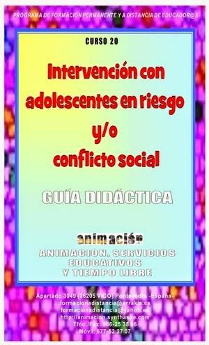 imagen curso intervencion con menores en conflicto social