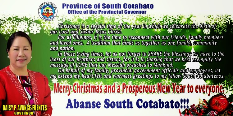 Governors Christmas Message