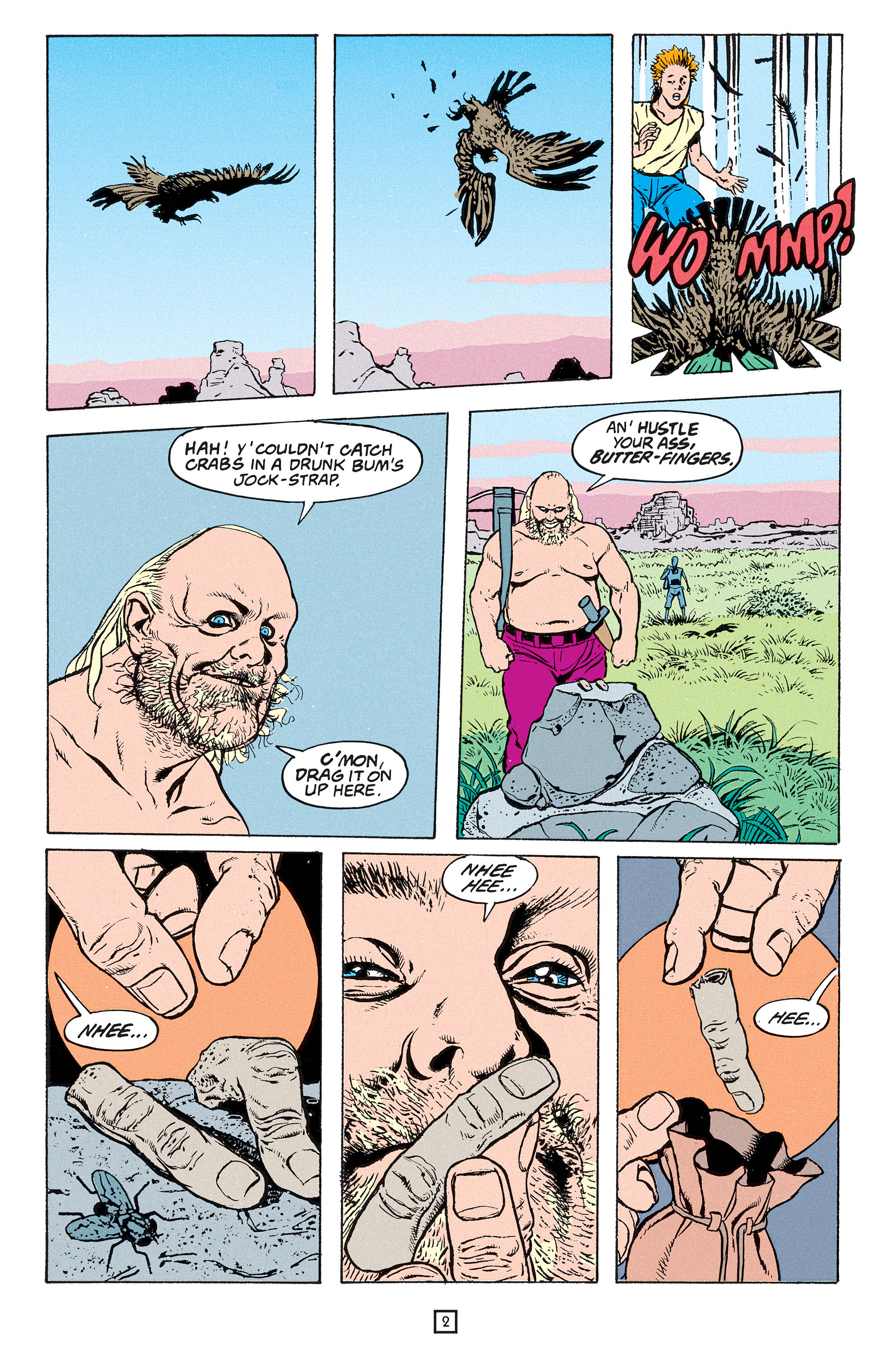 Read online Animal Man (1988) comic -  Issue #54 - 3