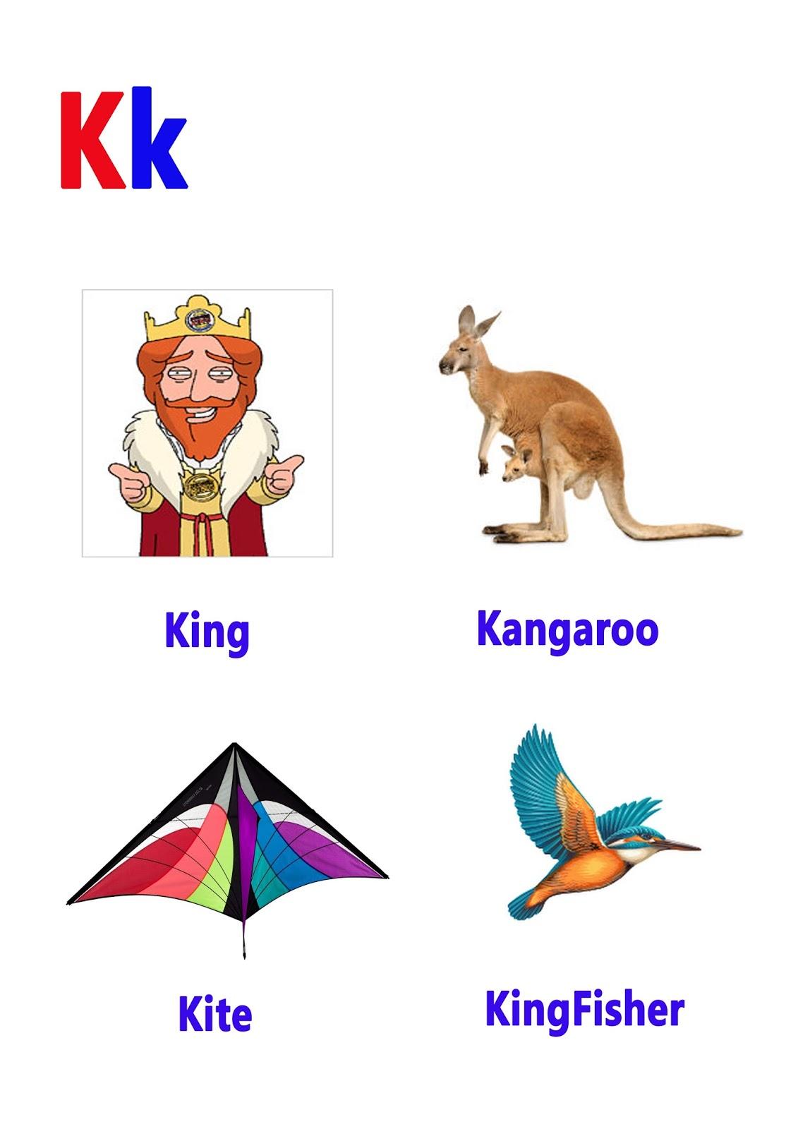 K Letter Words