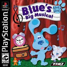 Blues Clues - Blues Big Musical - PS1 - ISOs Download