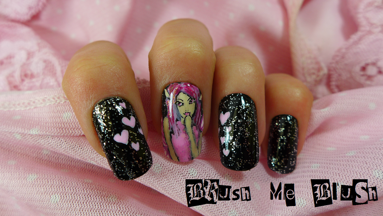 Brush me Blush: Fairy Nail Art