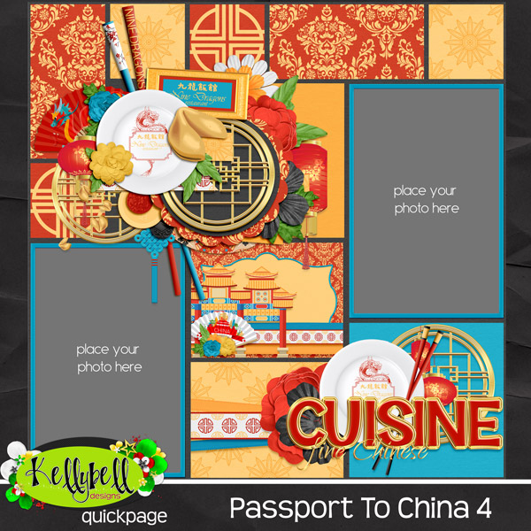 Passport To China from KellyBell Designs