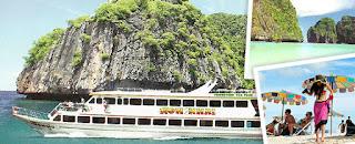 ทัวร์เกาะพีพี-เกาะไข่ (Luxury Boat)