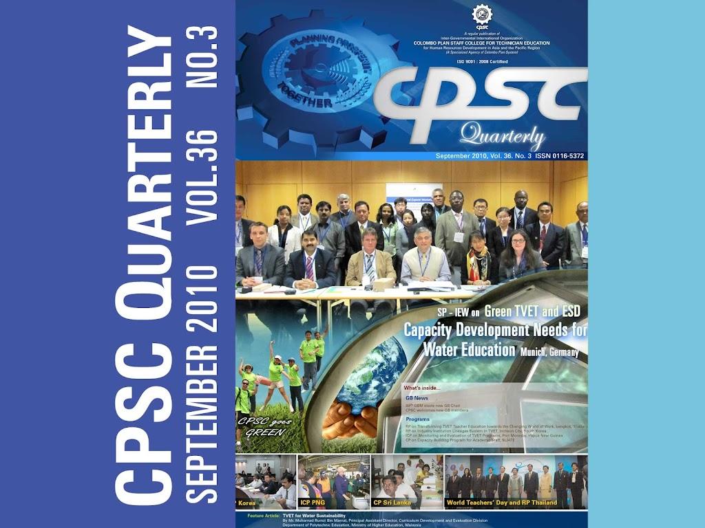 CPSC Quarterly September 2010