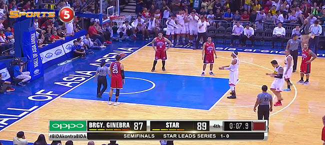 Star Hotshots def. Ginebra, 91-89 (REPLAY VIDEO) Semis Game 2 / February 11