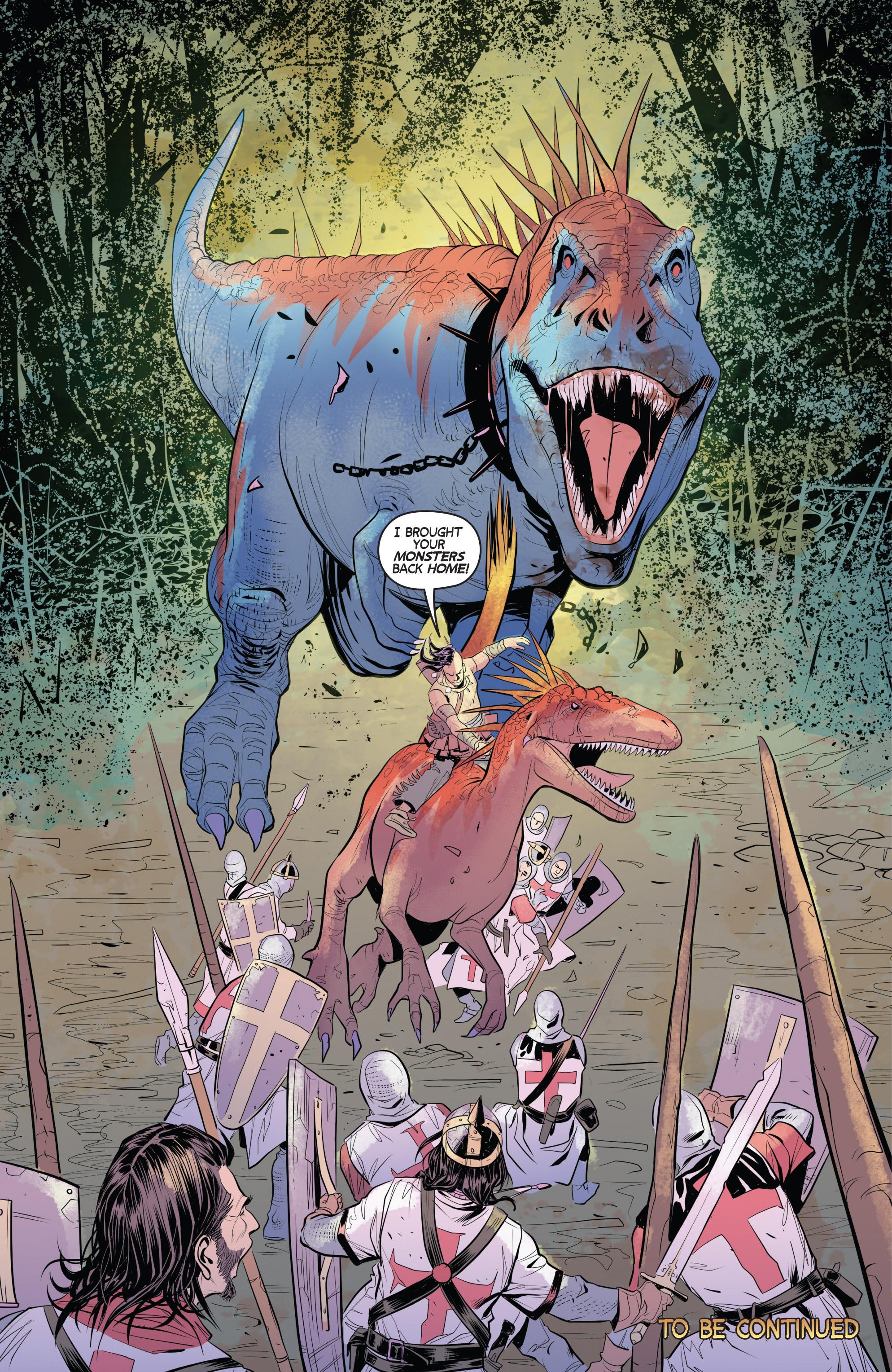 Read online Turok: Dinosaur Hunter (2014) comic -  Issue # _TPB 1 - 72