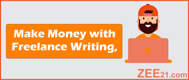 Make Money Online  with freelance writing jobs