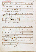 Manuscrito con obras de Joan Pau Pujol