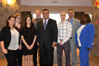 Photo of Rio Salado team with Dr. Bustamante and Faculty Chair Pruitt