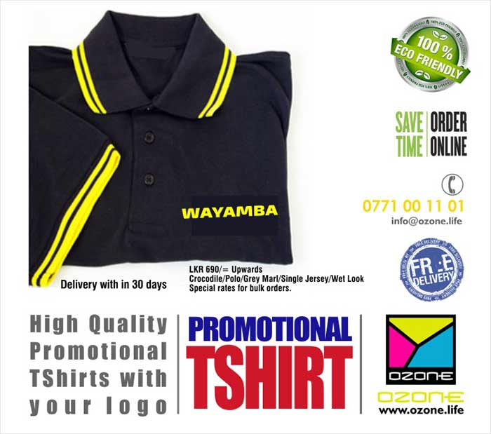 High quality printed Wet-Look t-shirts.  Large range of designs. We can print and finish any kind design according to your requirements. More suitable for latest office wears, sports events, promotions, sport teams etc. We have done large range of designs for various fields. More conformable fabric used. Easy to make colorful designs.