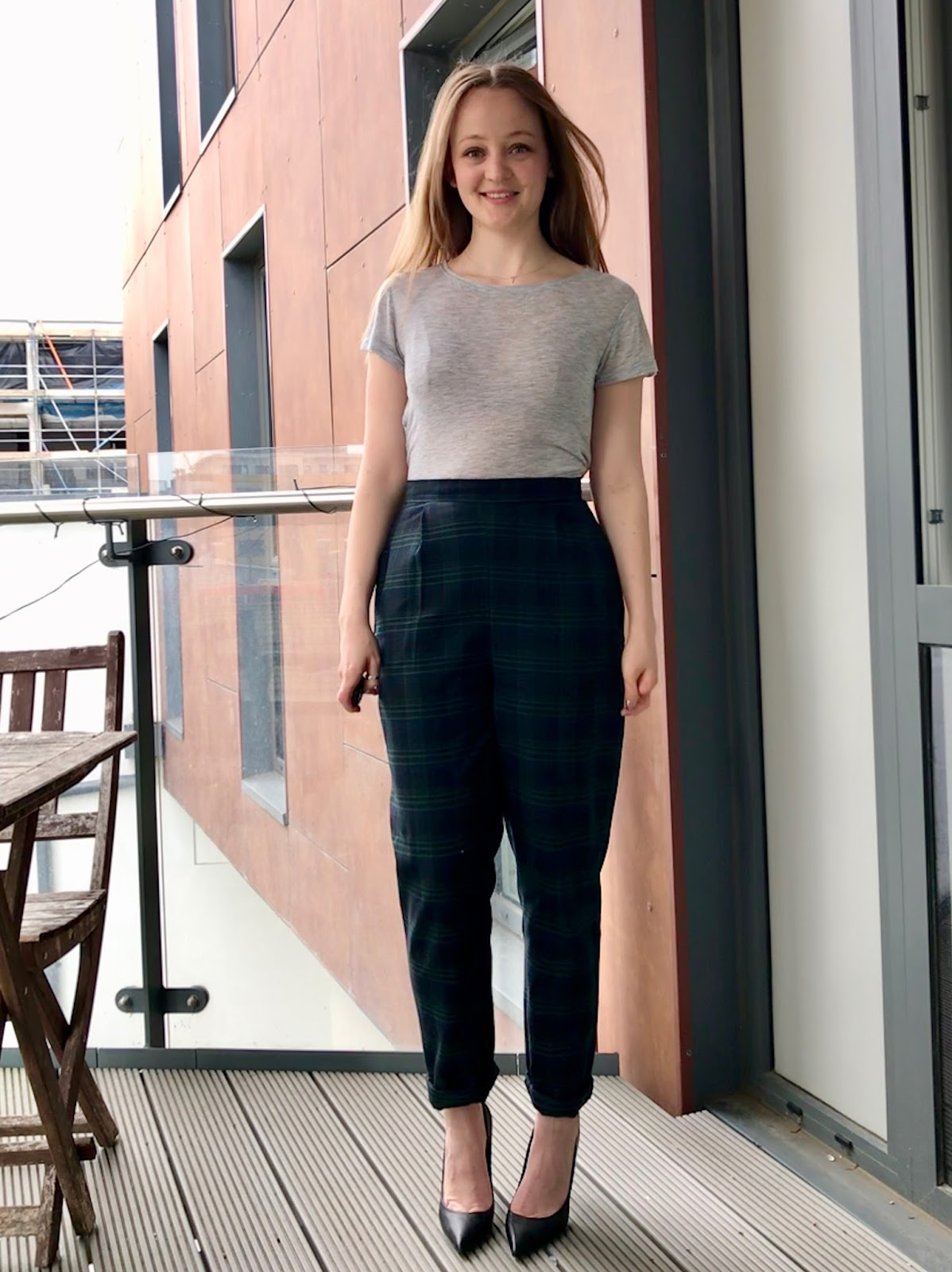 093c748df1 Tartan Wool Ailakki Trousers