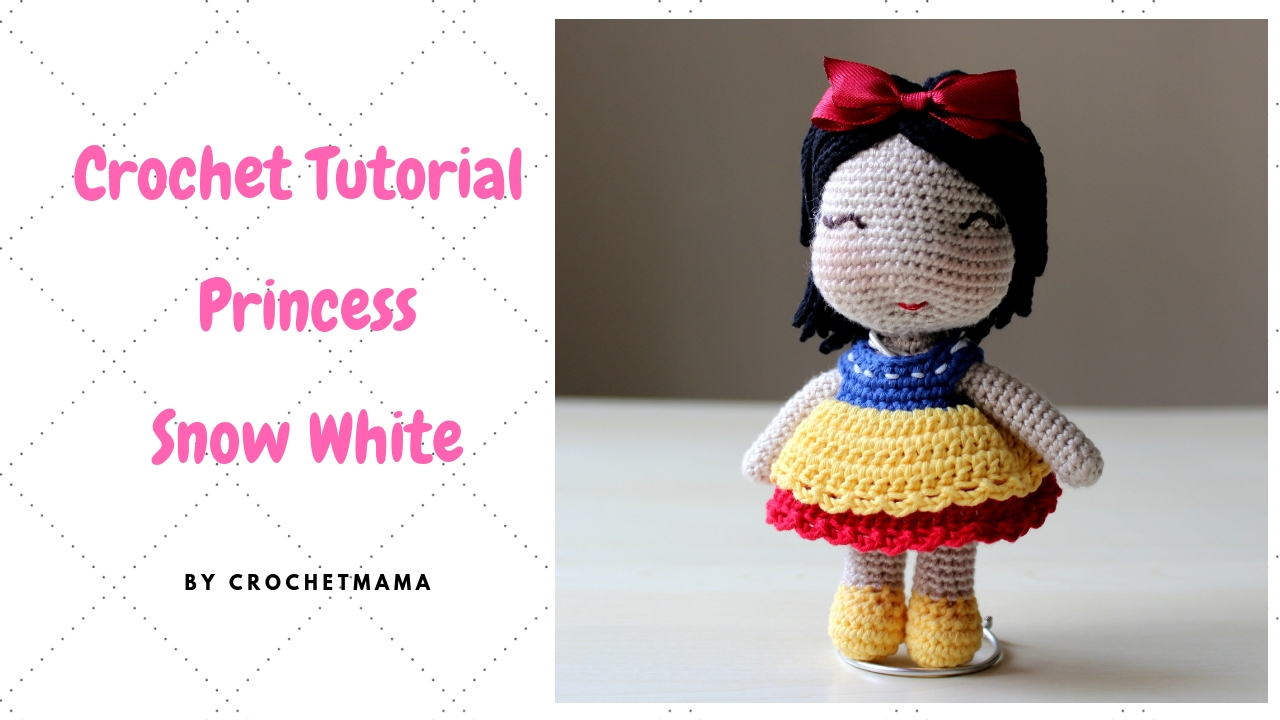 Disney Princess Crochet Kit Amigurumi Unboxing (NEW) - YouTube | 720x1280