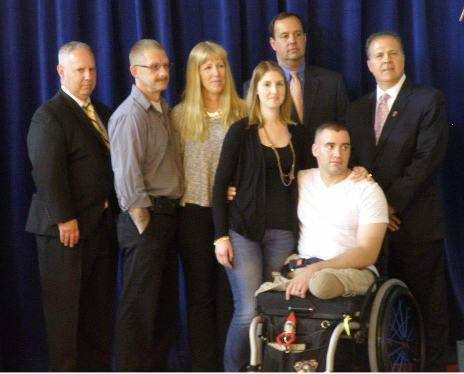 Freeholders Honor Wounded Jefferson Marine