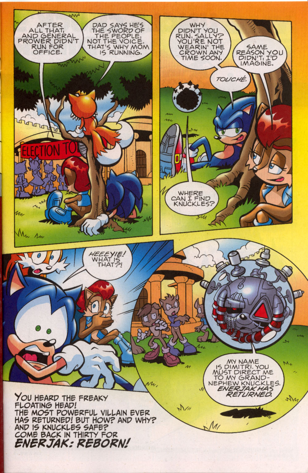 Read online Sonic The Hedgehog comic -  Issue #179 - 18