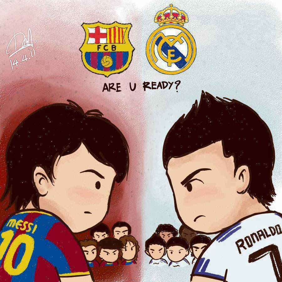 Fun Reading Emails El Clasico Barcelona Vs Real Madrid