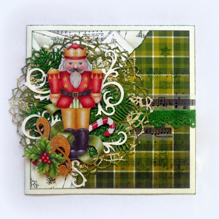Картинки, открытка с щелкунчиком