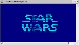 starwars telnet towel.blinkenlights.nl