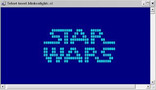 starwars telnet towel.blinkenlights.nl