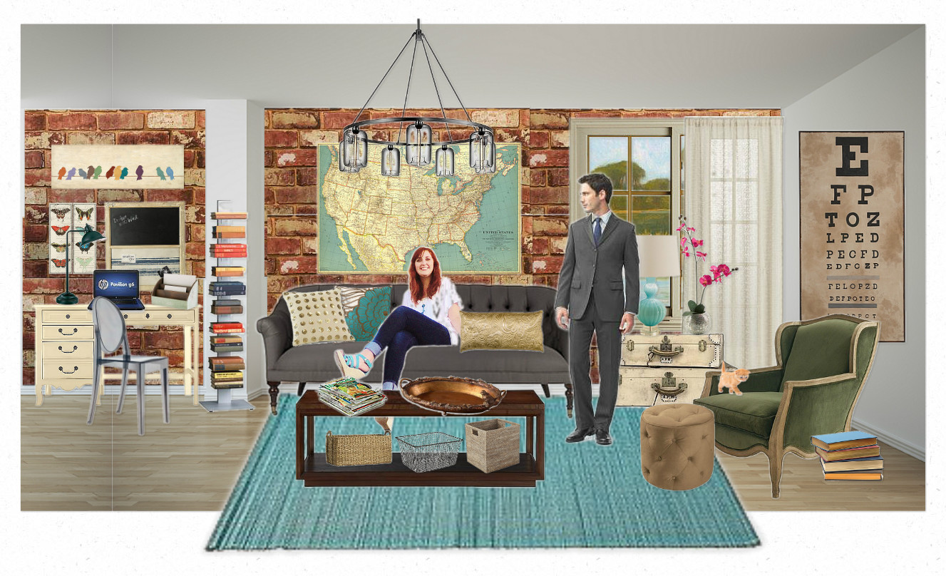 Battle of the Sexes | Sharing Decor Choices with a Guy ...