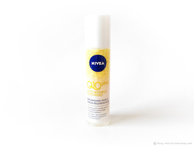 NIVEA Q10plus Anti-Wrinkle Replenishing Pearls Review