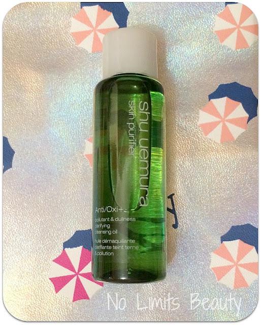 Ipsy Julio 2016 - Shu Uemura anti-oxi skin refining cleansing oil