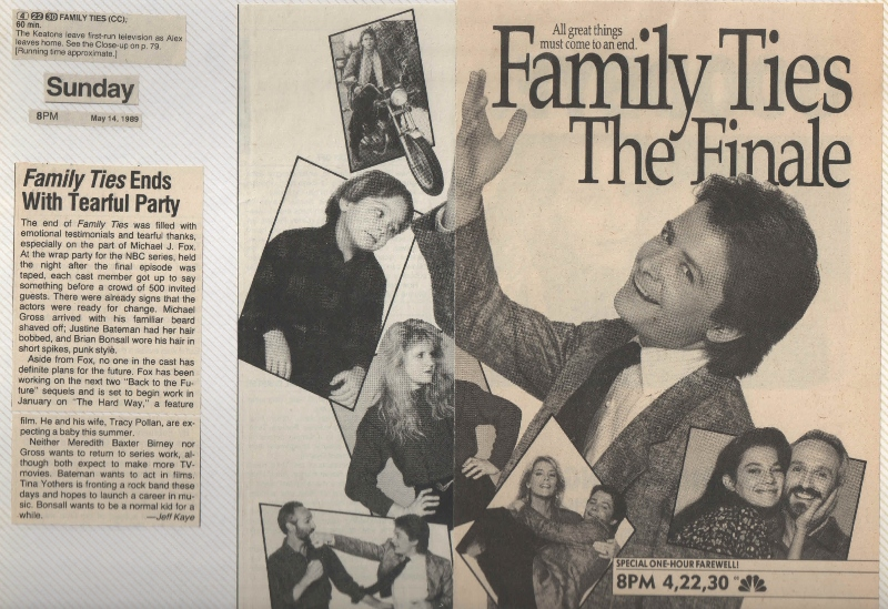 Image result for family ties final episode
