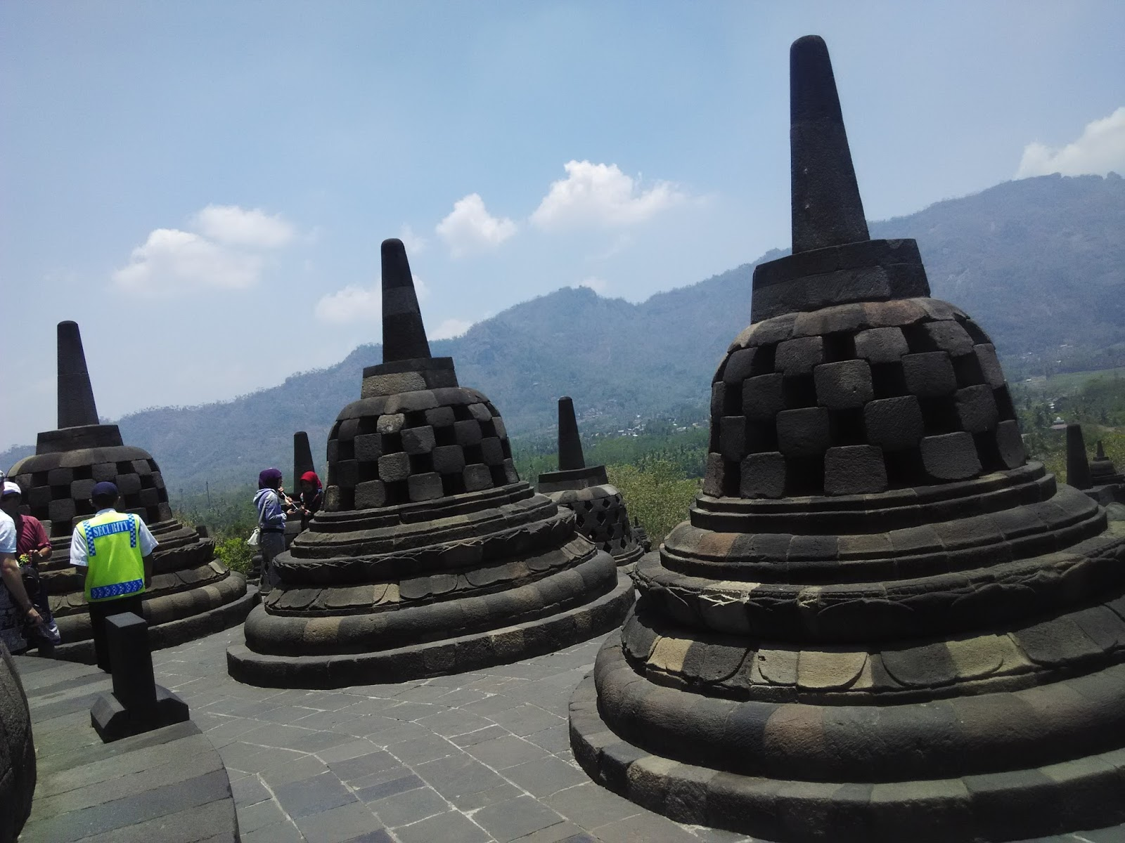 Gambar Sketsa Candi Borobudur Yang Gampang
