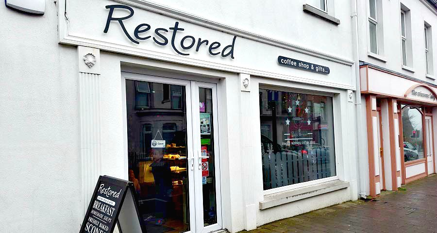 Restored Coffee and Gifts, Shop Ballymoney, Ballymoney Gift Guide, Blogger