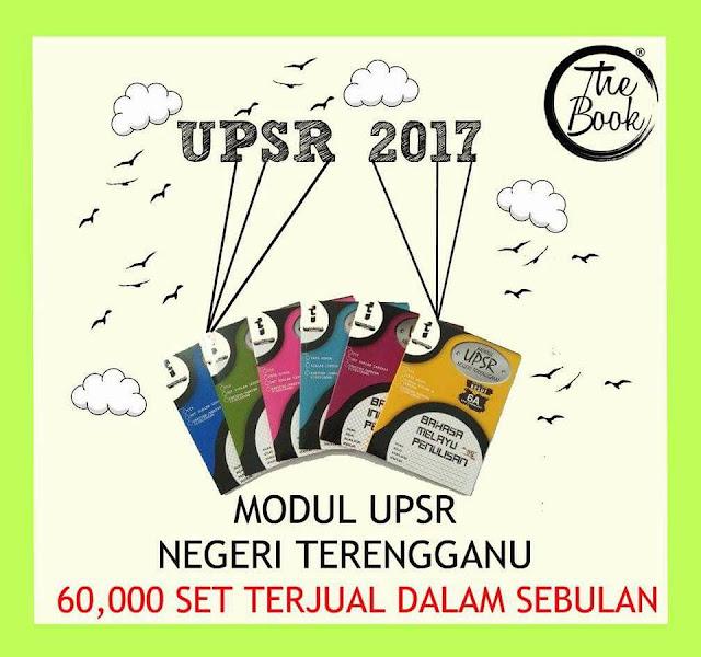 Modul UPSR Negeri Terengganu 2017, Set Modul UPSR Terbaik Untuk Pelajar Darjah 6