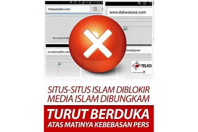 situs islam diblokir