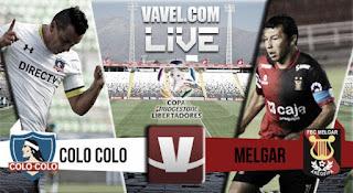 Colo Colo vs Melgar en Copa Libertadores 2016