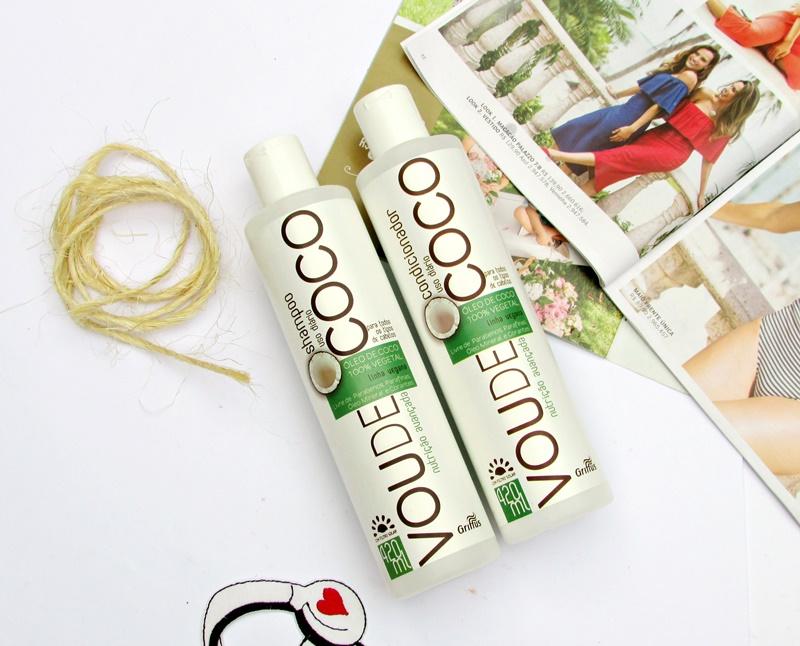 Linha Vou de Coco da Griffus Cosméticos - Shampoo e Condicionador