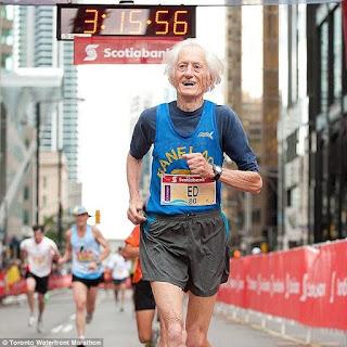 Ed Whitlock 85 year old marathon runner