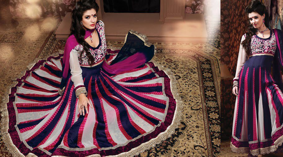 READYMADE COLLECTIONS: Net,Georgette,Satin Anarkali Suit