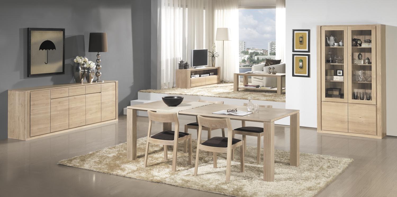 Muebles para casas peque as mesas nordicas para comedores for Amueblar comedor pequeno