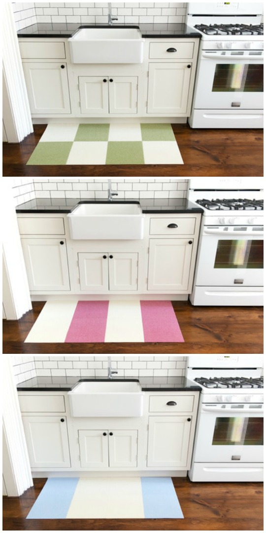 New TRILUC Place u Stick Tile Mats can be purchased in pieces and pieces from Wal mart online