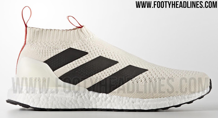a158dbfe5ca2b9 Adidas Ace 16+ PureControl UltraBoost Champagne Edition - Off White   Black    Red