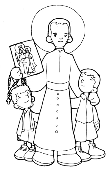 Dibujos Para Catequesis Don Bosco
