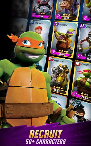 Ninja Turtles Legends Mod Apk Unlimited Money